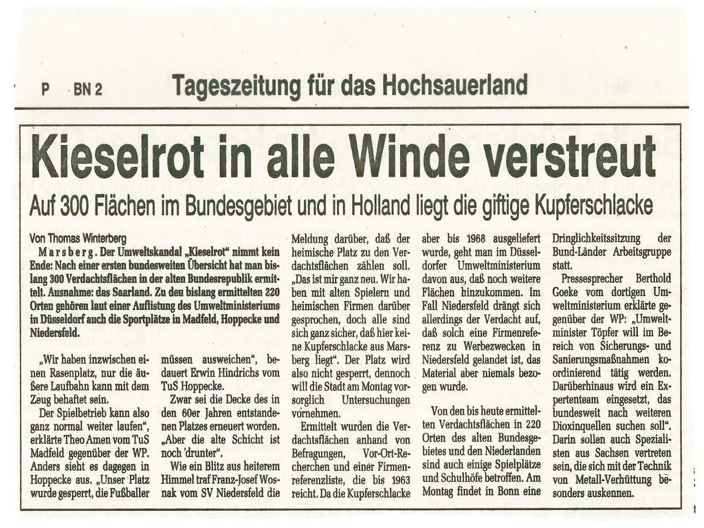 Kieselrot, Knopf zu Kieselrot, Knopf zu Marsberg, Kieselrotskandal,o