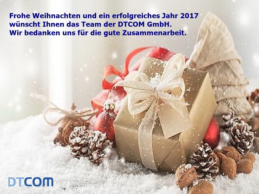 Frohe Weihnachten - DTCOM Blog