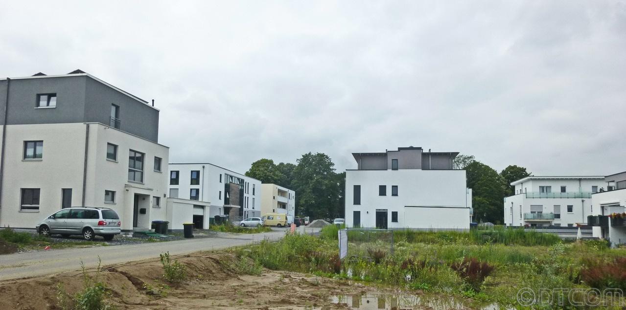 Wohnbebaung auf einer Altlast, Knopf zu Unna Weberstraße