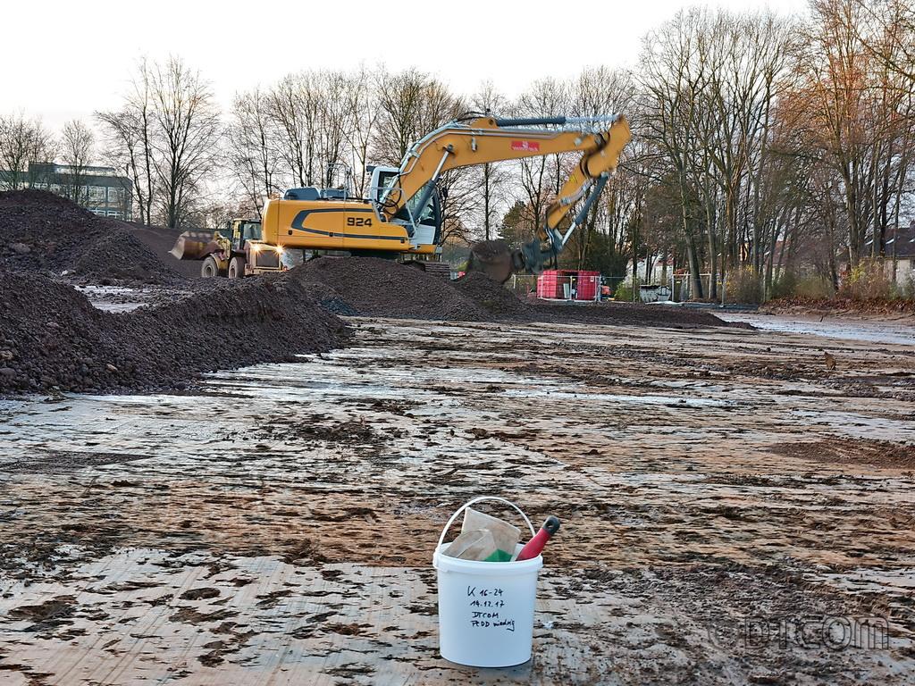 Kieselrot Beprobung, Kieselrot Analysen, Bodenuntersuchungen, Kontrollbeprobung, Beprobung, Bodenbeprobung